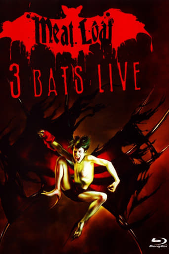 Poster of Meat Loaf: Three Bats Live