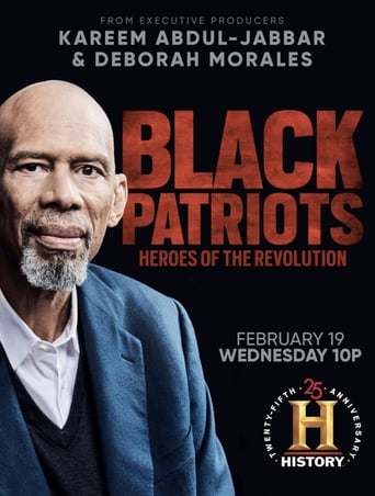 Poster of Black Patriots: Heroes of the Revolution