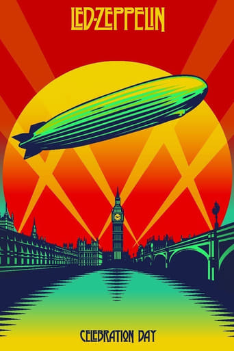 Poster of Led Zeppelin: Celebration Day