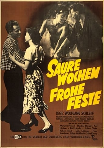 Poster of Saure Wochen - Frohe Feste