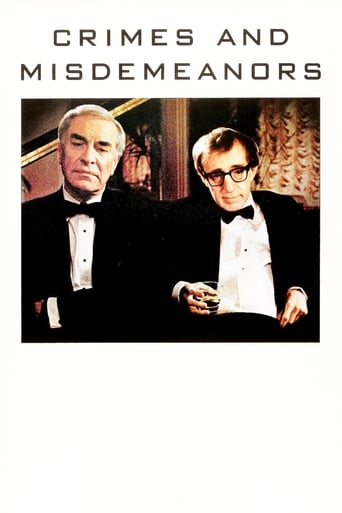 Poster of Crimes and Misdemeanors