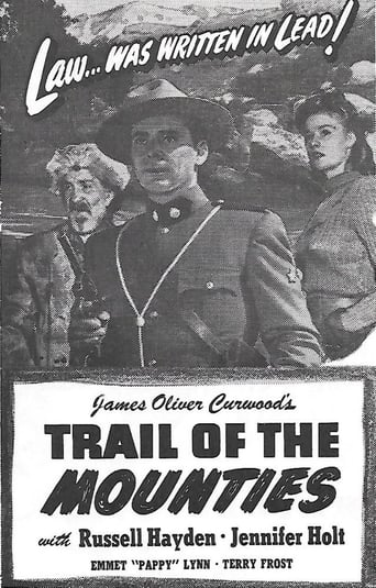 Poster of Trail of the Mounties