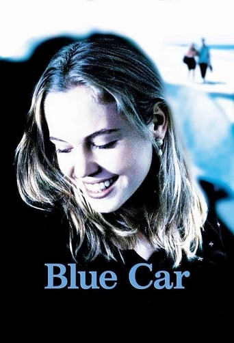 Poster of Blue Car