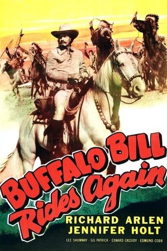 Poster of Buffalo Bill Rides Again