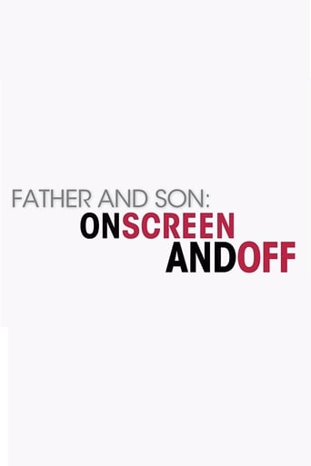 Poster of Father and Son: On Screen and Off