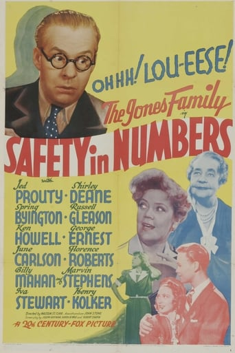 Poster of Safety in Numbers