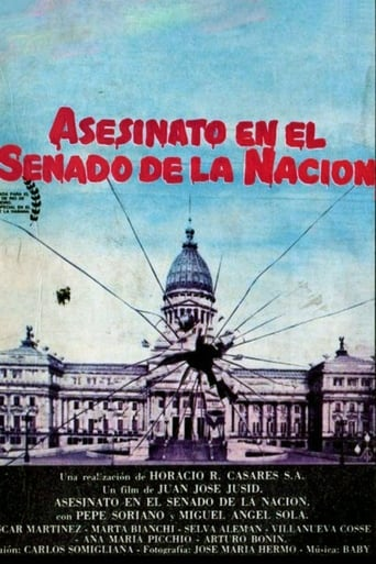 Poster of Asesinato en el Senado de la Nación