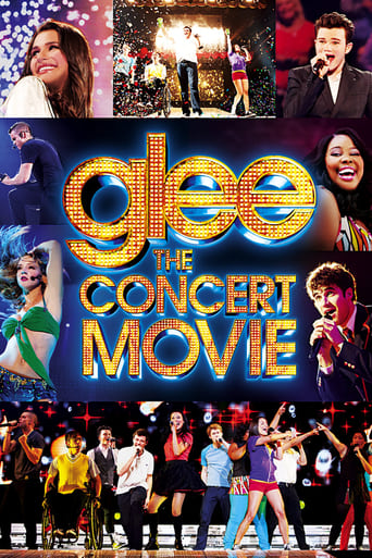 Poster of Glee: The Concert Movie