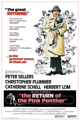 Poster of The Return of the Pink Panther