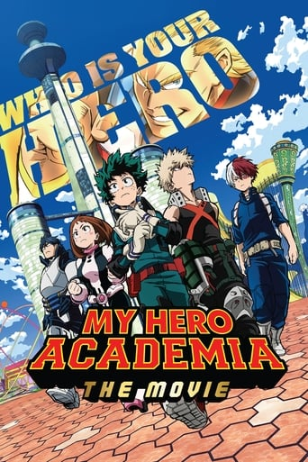 Poster of My Hero Academia the Movie: The Two Heroes