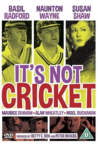 Poster of It's Not Cricket