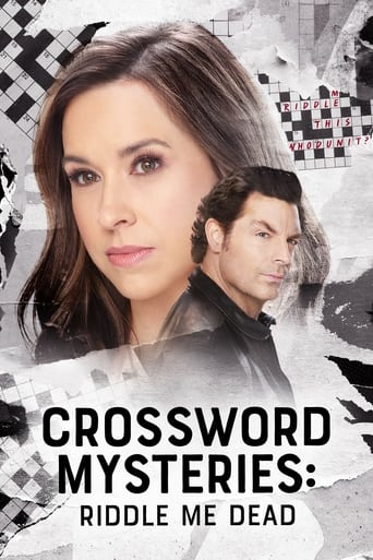 Poster of Crossword Mysteries: Riddle Me Dead