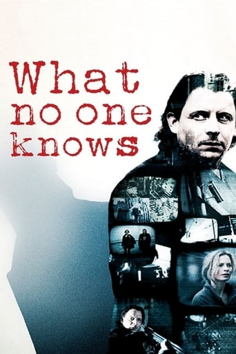 Poster of What No One Knows