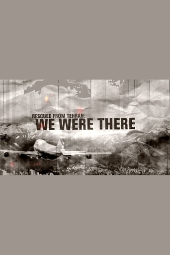 Poster of Rescued from Tehran: We Were There