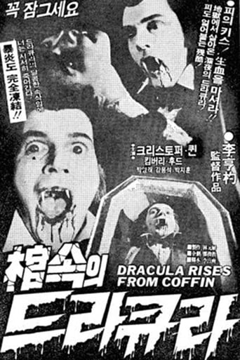 Poster of Dracula Rises from Coffin