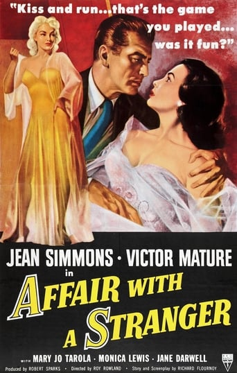 Poster of Affair With A Stranger