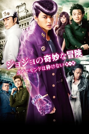 Poster of Jojo's Bizarre Adventure: Diamond is Unbreakable