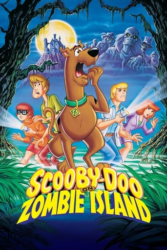 Poster of Scooby-Doo on Zombie Island