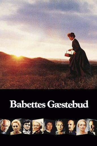 Filmplakat von Babettes Fest