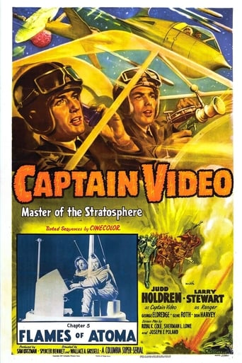 Poster of Captain Video, Master of the Stratosphere