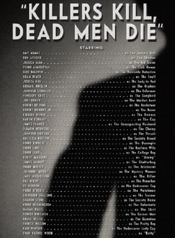 Vanity Fair: Killers Kill, Dead Men Die poster