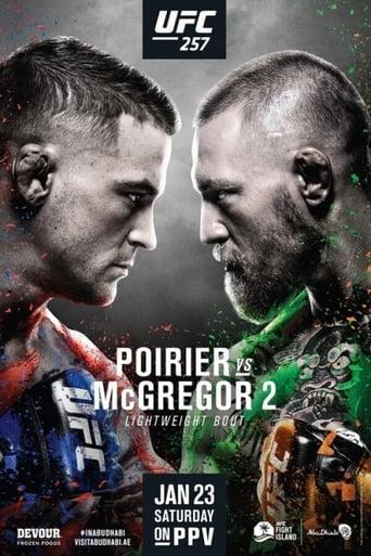 Poster of UFC 257: Poirier vs. McGregor 2