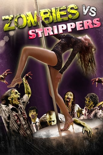 Poster of Zombies vs. Strippers