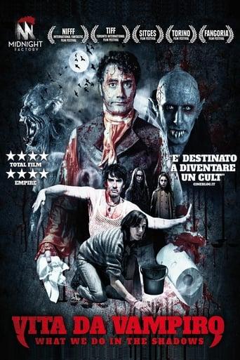 Poster of Vita da vampiro - What We Do in the Shadows