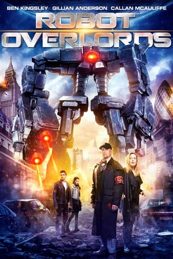 Poster of Robot Overlords