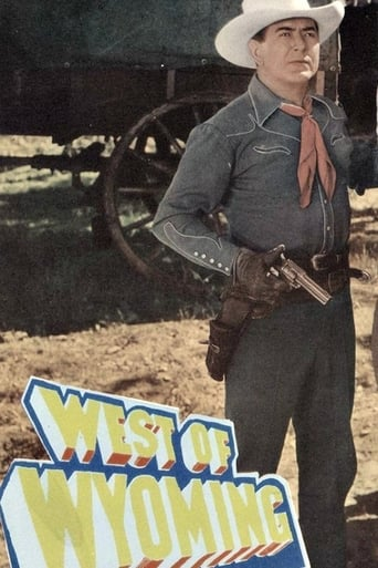 Poster of West of Wyoming