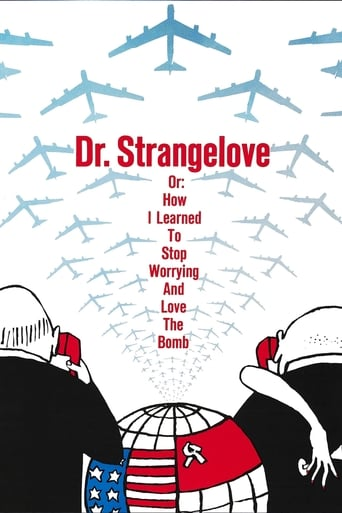 Poster of Dr. Strangelove or: How I Learned to Stop Worrying and Love the Bomb