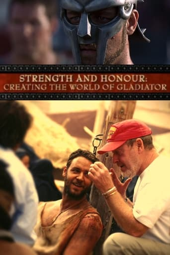 Poster of Strength and Honor: Creating the World of 'Gladiator'