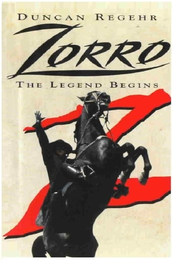 Poster of Zorro the legend begins