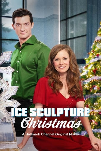 Poster of Ice Sculpture Christmas