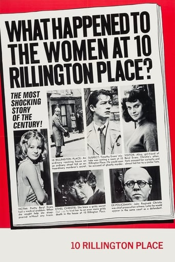 Poster of 10 Rillington Place