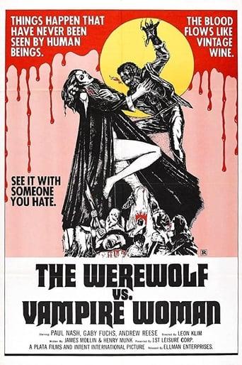 Poster of The Werewolf Versus the Vampire Woman
