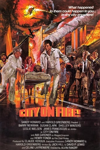 Poster of City on Fire