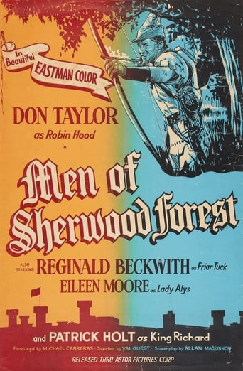 Poster of The Men of Sherwood Forest