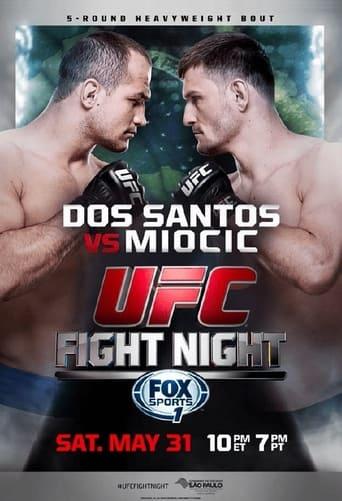 Poster of UFC on Fox 13: Dos Santos vs. Miocic