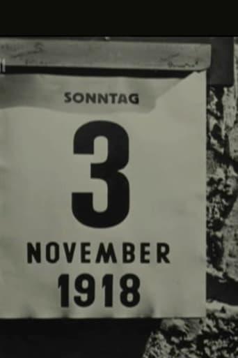Poster of 3. November 1918