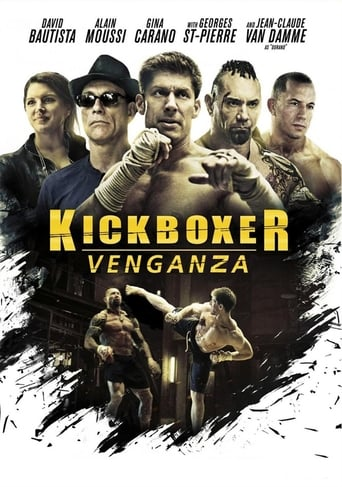 Poster of Kickboxer: Venganza
