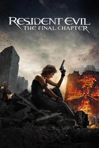 Poster of Resident Evil: The Final Chapter