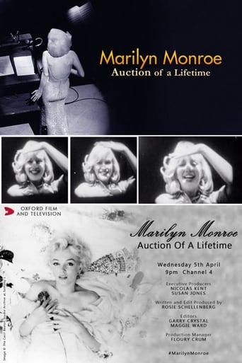 Poster of Marilyn Monroe: Auction of a Lifetime