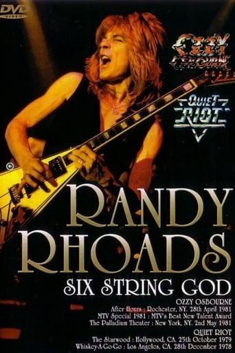 Randy Rhoads – Six String God poster