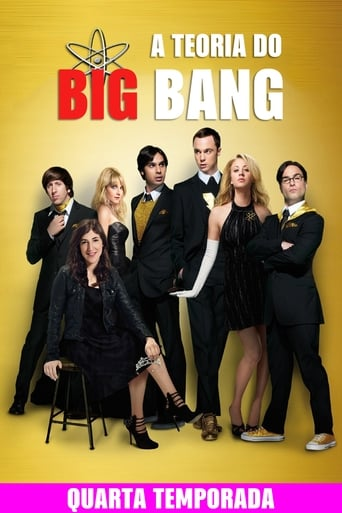 Big Bang A Teoria 4ª Temporada - Poster