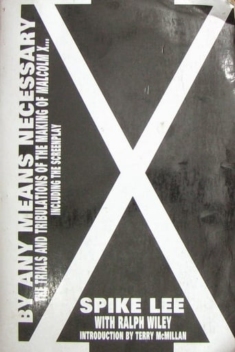 Poster of By Any Means Necessary: The Making of Malcolm X