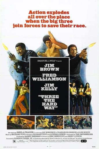 Poster of Three the Hard Way