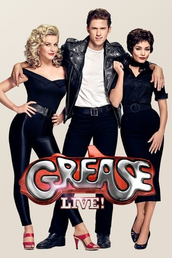 Poster of Grease Live