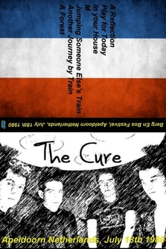The Cure: Apeldoorn Poster