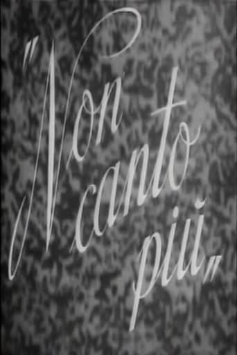 Poster of Non canto più